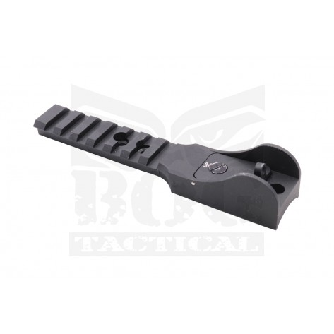 Black Owl Gear™ Ghost Ring Sight Top Mount Picatinny Rail for Model 870 Shotgun