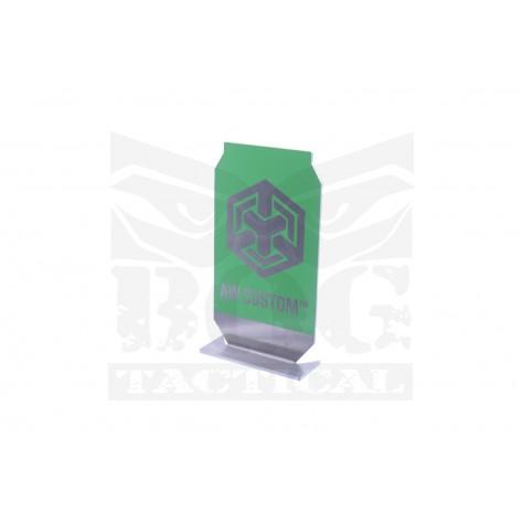 Black Owl Gear™ Practical Shooting Popper Target Plate - AW Custom™ (Green)